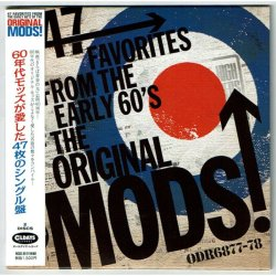 Photo1: V.A. / 47 FAVORITES FROM THE EARLY 60'S OF THE ORIGINAL MODS! (Used Japan mini LP CD)