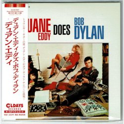Photo1: DUANE EDDY / DUANE EDDY DOES BOB DYLAN (Brand New Japan mini LP CD) * B/O *