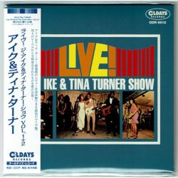 Photo1: IKE & TINA TURNER / LIVE! THE IKE & TINA TURNER SHOW - VOL.1 + 2 (Brand New Japan mini LP CD) * B/O *