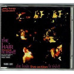 Photo1: THE HAIR / FETISH!! THE HAIR LIVE ACTION! (Used Japan Jewel Case CD)
