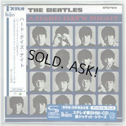 Photo2: THE BEATLES / A HARD DAY'S NIGHT - uncore press (Used Japan mini LP SHM-CD)