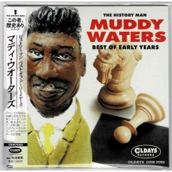 Photo1: MUDDY WATERS / THE HISTORY MAN : BEST OF EARLY YEARS (Brand New Japan mini LP CD) * B/O *