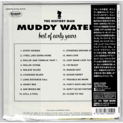 Photo2: MUDDY WATERS / THE HISTORY MAN : BEST OF EARLY YEARS (Brand New Japan mini LP CD) * B/O *