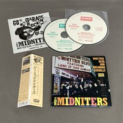Photo2: THEE MIDNITERS / WHITTIER BLVD. AND DREAMING CASUALLY (Used Japan mini LP CD)