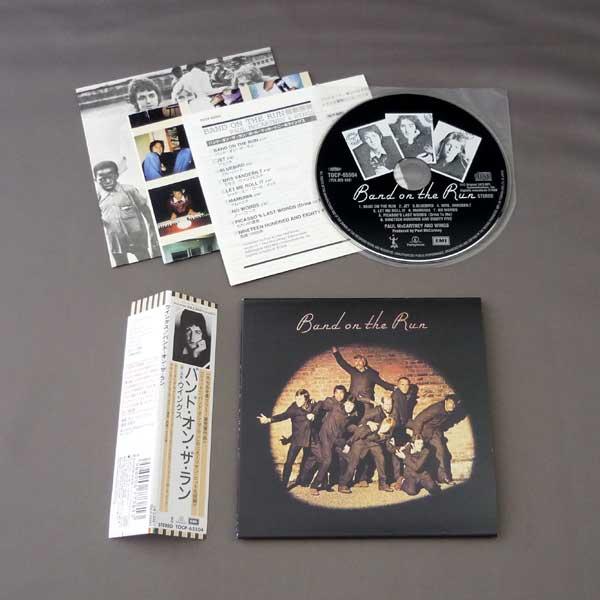 Photo2 BAND ON THE RUN USED JAPAN MINI LP CD PAUL McCARTNEY
