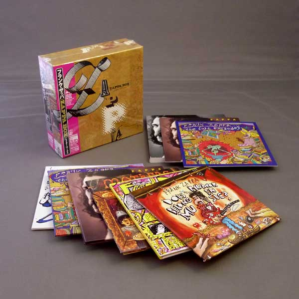 Zappa Box Later Works Used Japan Mini Lp Cd Box Set