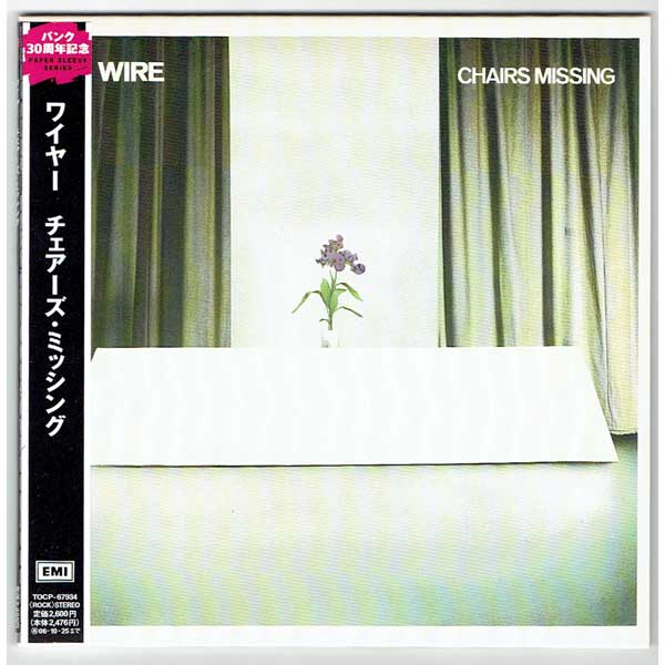 CHAIRS MISSING (USED JAPAN MINI LP CD) WIRE