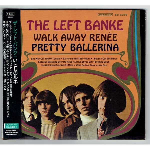 THE LEFT BANKE WALK AWAY RENEE PRETTY BALLERINA (Used Japan Digisleeve CD)